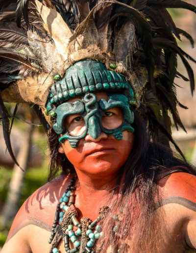 Personajes Mayas - OVC - Xcaret