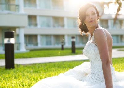 Hayley + Craig – Moon Palace Wedding