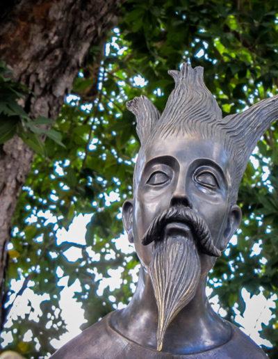 Esculturas de Leonora Carrington en el Paseo Montejo - Mérida, Yucatán