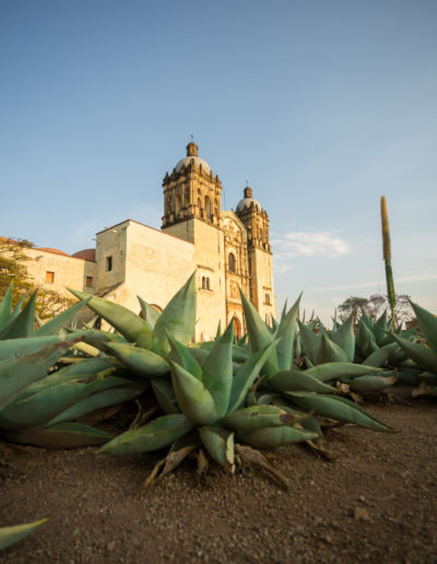 El templo Oaxaca