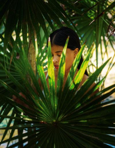 Sesion de foto en Tankah en traje de baño con Alejandra