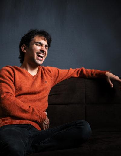 Cesar Ramones - Sesion de foto en Estudio.