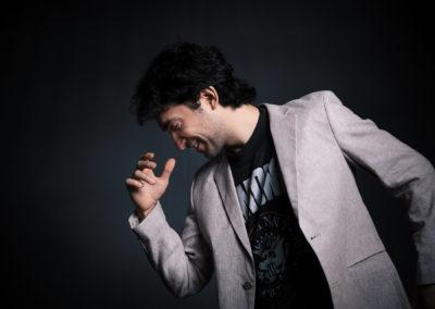 Cesar Ramones – Sesión de Foto en Estudio